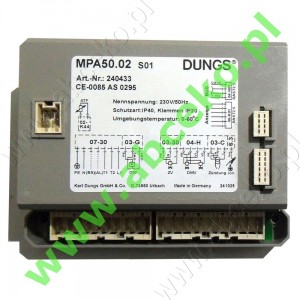 DUNGS - MPA 50.02  S01 Automat palnikowy