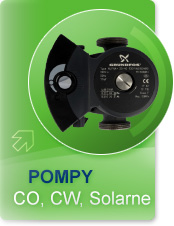 Pompy Co, COW, solarne